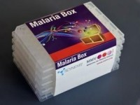 The box of 400 active drug-like molecules was distributed at no cost to researchers around the world. (Image: Medicines for Malaria Venture)