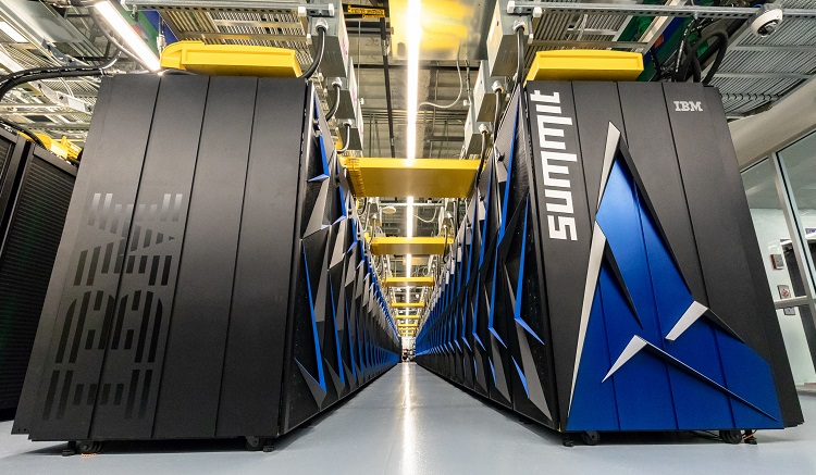 Berg harnesses Oak Ridge supercomputer in COVID-19 fight