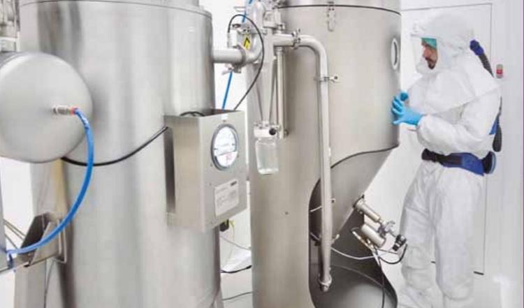 Idifarma spray-drying API plant up and running
