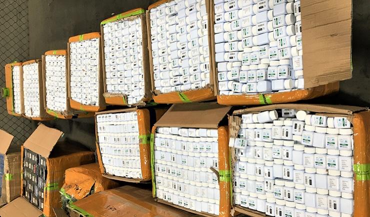 LA customs agents seize $19m in counterfeit Viagra pills